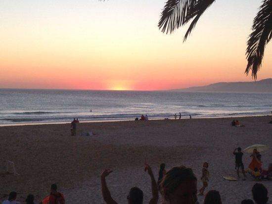 Playa de Los Lances: Precioso mirador