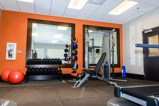 Holiday Inn Express Hotel & Suites Austin NW - Arboretum Area: Free weights