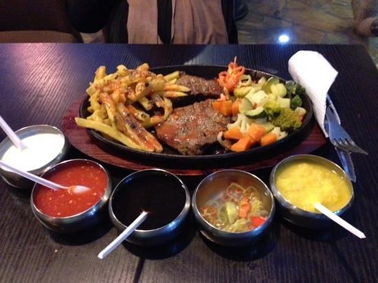 Mamboz Sizgrill : pepper steak