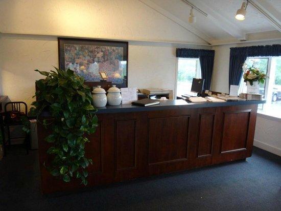 The Seaglass Inn & Spa: Reception