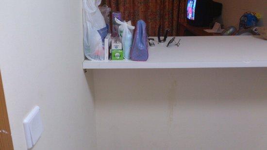 Apartamentos Turquesa Playa : Para tener sonido en la tv,habia que encender el interruptor de la cocina
