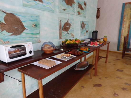 Aos Sinos dos Anjos - Art Hotel: Desayuno