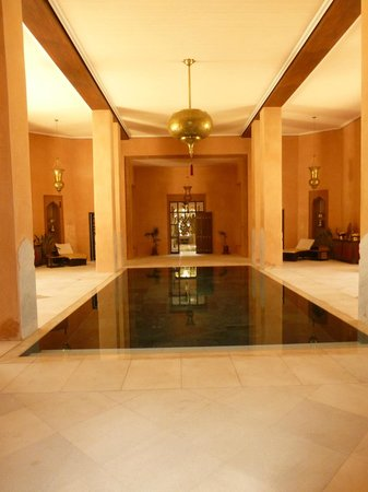 Sahara Palace Marrakech : Indoor pool at Spa