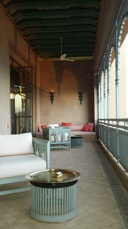 Sahara Palace Marrakech : Room verandah