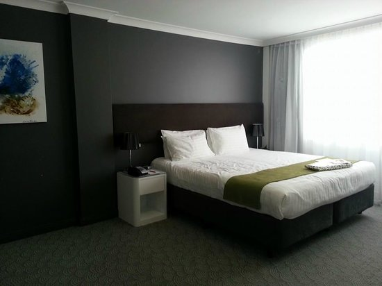 Rendezvous Hotel Perth Central: So roomy and just like the pics the hotel had posted