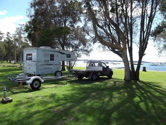 Ingenia Holidays Lake Macquarie: Waterfront Powered Site