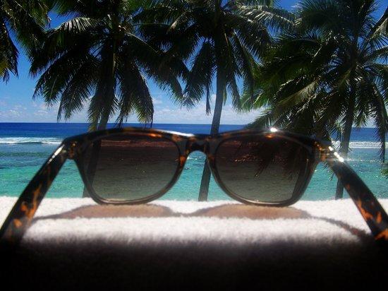 The Rarotongan Beach Resort & Spa : Wow Rarotonga has great views