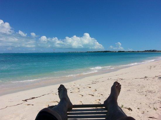 Atlantic Ocean Beach Villas: My view from the beach