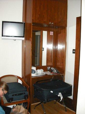 Garden View Hotel : Zona TV e Thè