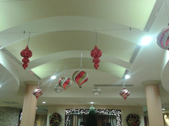 Fairfield Inn & Suites Elkin Jonesville : Ceiling decorations.