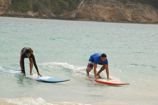 Macao Surf Camp: just about getting up