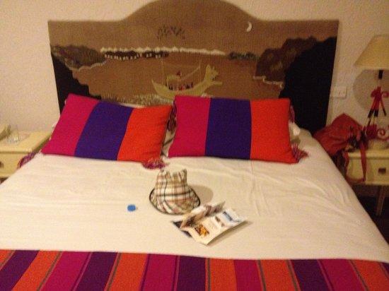 Hotel Rosario La Paz: lindos detalles de bolivia habitaciones