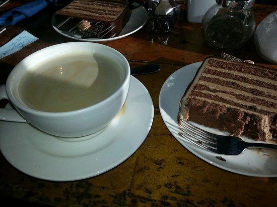 Chocolate House: Chocolate Layer Cake and Cafe