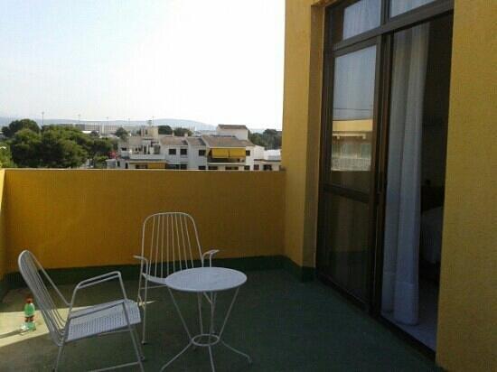Hotel Amic Miraflores: Terrazzo