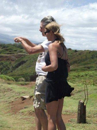 Maui Custom Tours: Steve showing me the sites