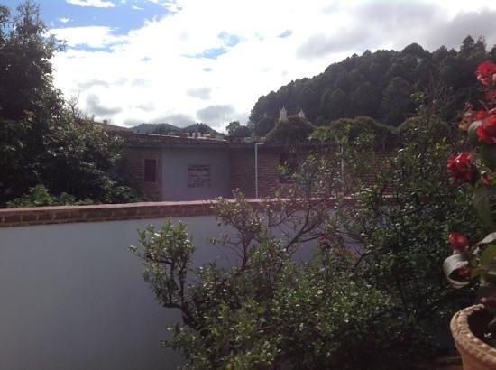 Hotel Posada El Zaguán: view from a terrace