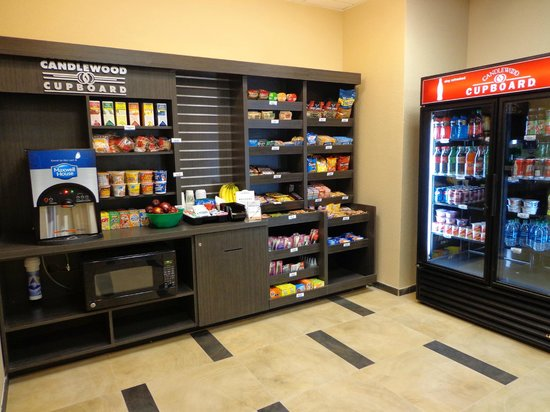 Candlewood Suites: Shop For Breakfast Lunch And Dinner In Our Unique Candlewood Cupboard