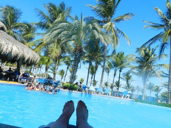 Isla Caribe Beach Hotel : piscina