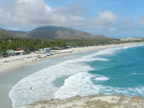 Isla Caribe Beach Hotel : playa