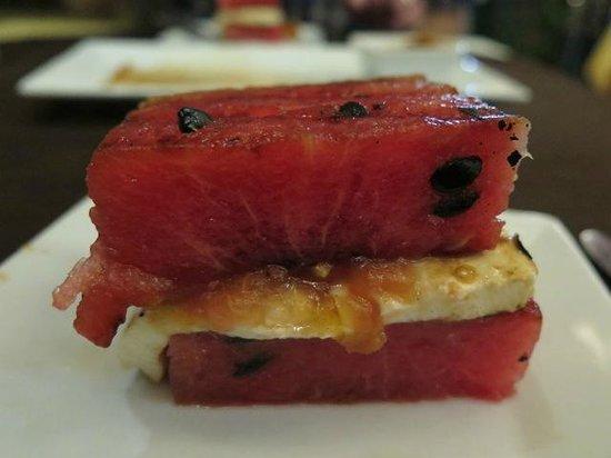 Taberna de los Frailes : Grilled watermelon appetizer WHAT??!!