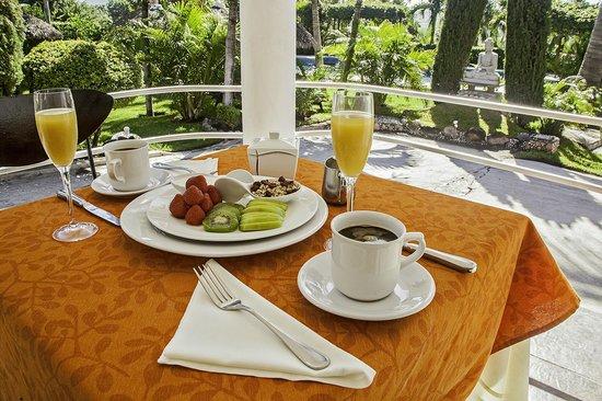 Casa Domingo Hotel Petit: Desayuno en la Terraza