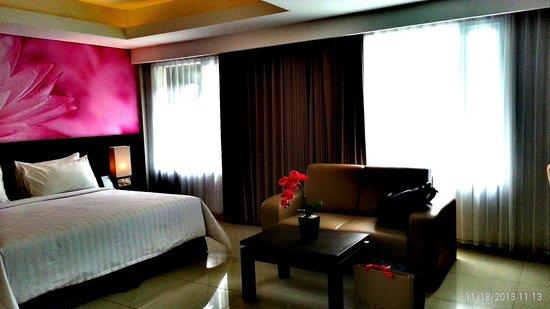 Crystal Kuta Hotel: My wonderful suite room