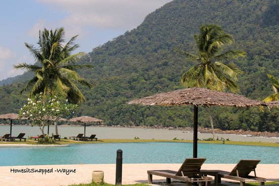 Damai Puri Resort & Spa: The View from our Seaview Room.