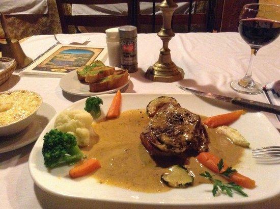 Cafe Mariane: Steak sauce aux poivres