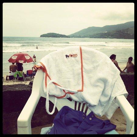Hotel Porto do Eixo: Serviço de Praia