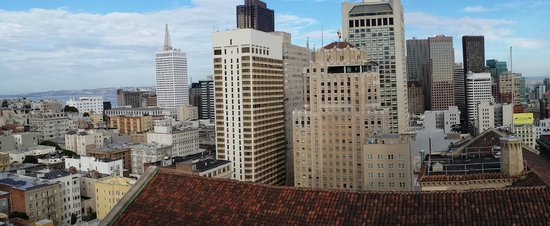 JW Marriott San Francisco Union Square: Panorama View from 21st floor