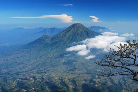 Temanggung, Индонезия: Amazing mountain