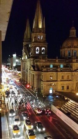 One Guadalajara Centro Històrico: Catedral vista
