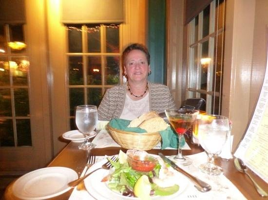Harraseeket Inn: having dinner at the tavern