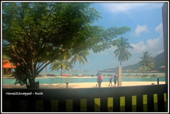 Damai Puri Resort & Spa : room with a view
