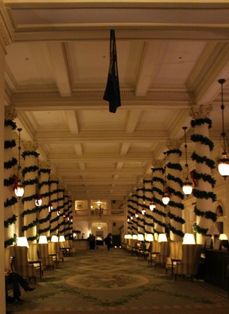The Omni Homestead Resort : The Great Hall