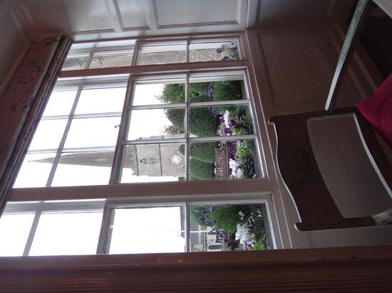 Falcon Inn Pub : View to the church