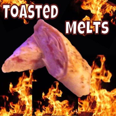 Louie K's Club Sandwich: Toasted melt
