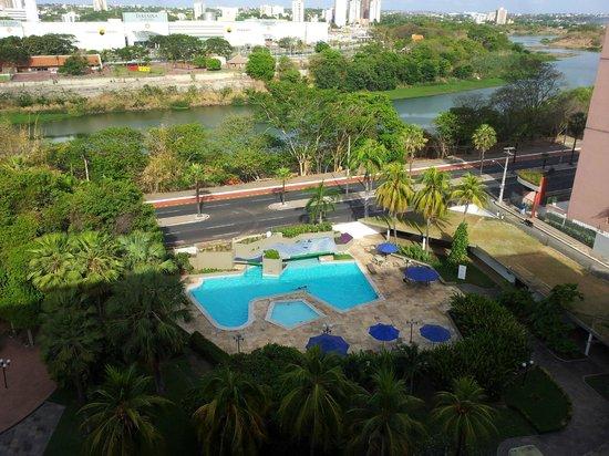 Blue Tree Towers Rio Poty Teresina: Vista da Sacada