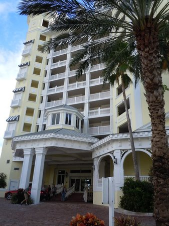 Pelican Grand Beach Resort, A Noble House Resort: the front of the hotel