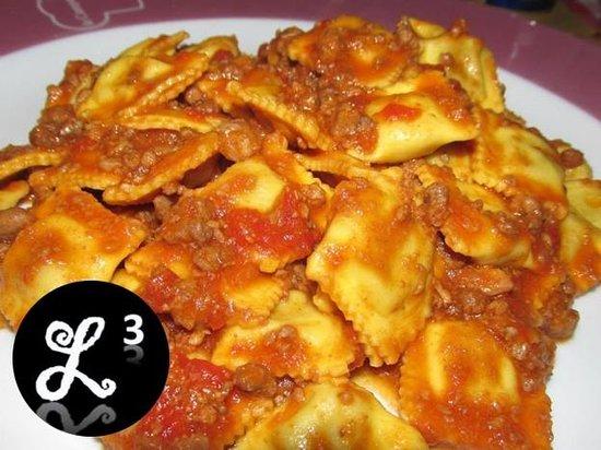 Ristorante Pizzeria Ai Sportivi: Handmade Ravioli
