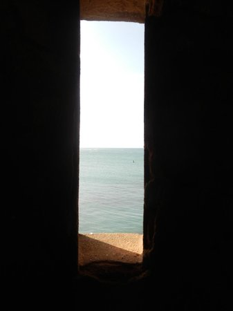 Malecon Puerto Plata : View out into the ocean