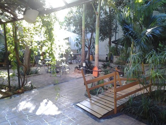Hotel Los Alpes: jardim