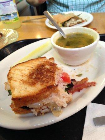 Presti's Bakery & Café: Panini and Wedding Soup