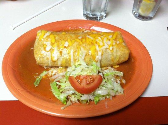 Quinto Patio Taqueria: Chicken Burrito