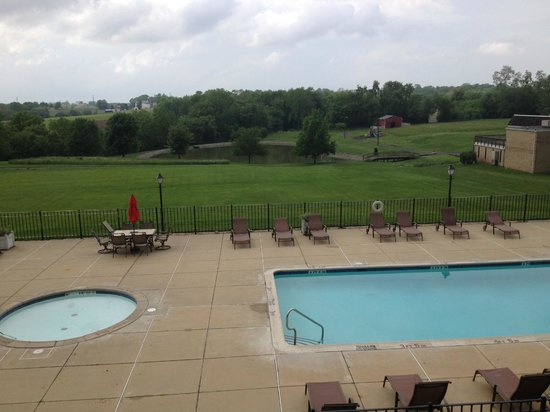 Hershey Farm Inn: There aren't many views like this one!