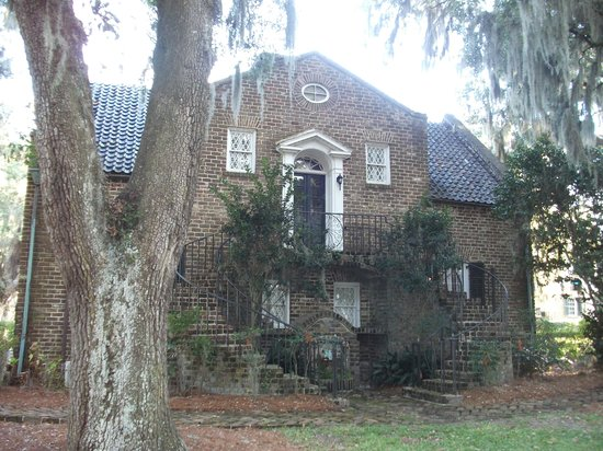 Mansfield Plantation: The guest house