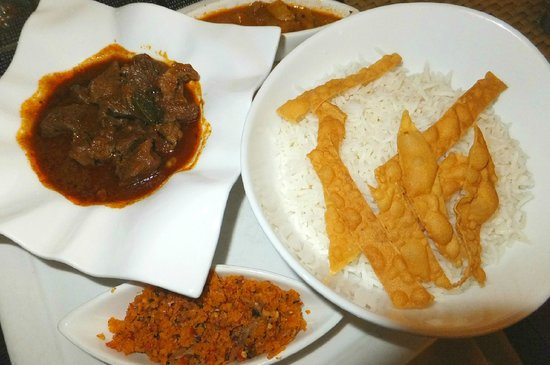 The Fortress: Sri Lankan Curry and Rice