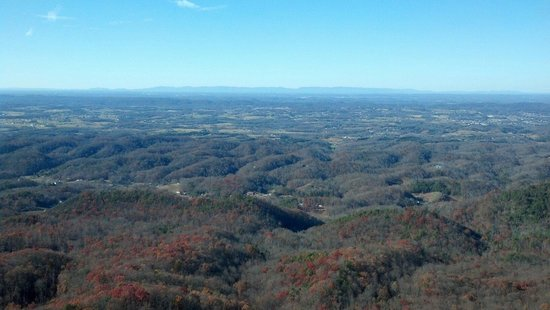 Bluff Mountain Adventures: View at the bluff