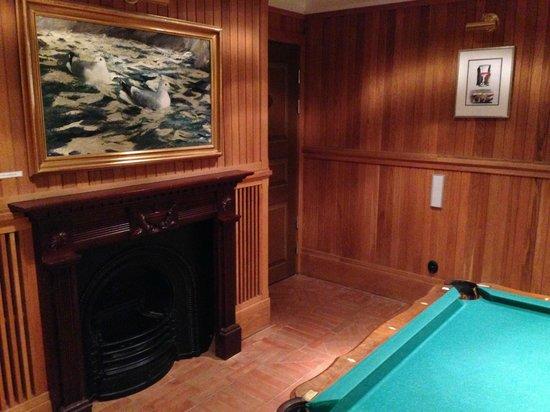 Grand Hotel Lund : 地下の娯楽室