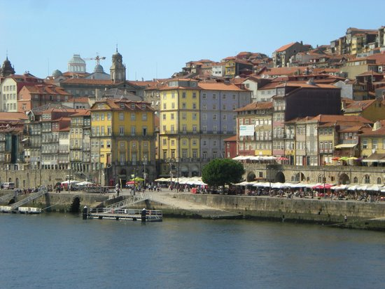 Pestana Vintage Porto: A view from a boat on the river